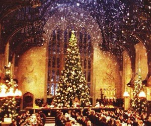 harry potter, beautiful, and christmas image