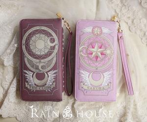 sakura, wallet, and sakura card captor image