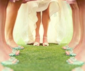 arty, shoes, and wedding image
