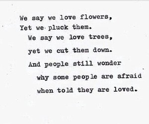 flowers, people, and poem image