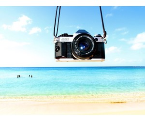 beach, camera, and nice image