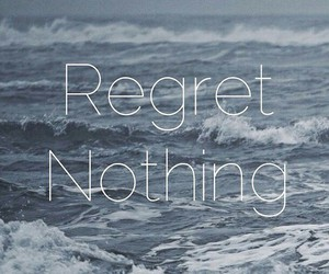 regret, sea, and blue image
