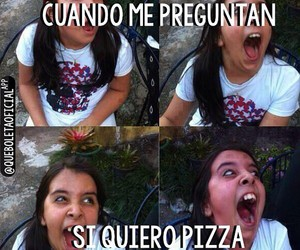 pizza, broma, and chiste image