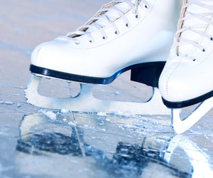 ice, winter, and skating image
