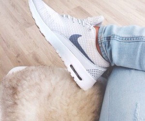 air, nike, and style image