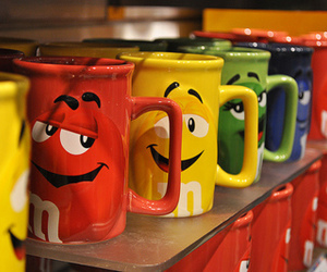 m&m, cup, and mug image