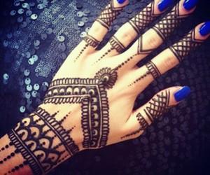 henna, pretty, and love image