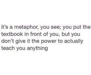 metaphor, school, and tfios image