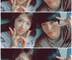 park shin hye, cn blue, and heartstrings image