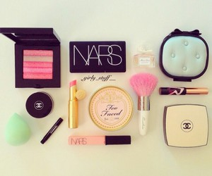chanel, nars, and cosmetics image