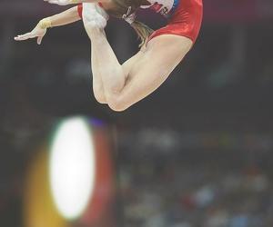 gymnastics, russia, and gymnast image