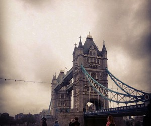 london, october, and towerbridge image