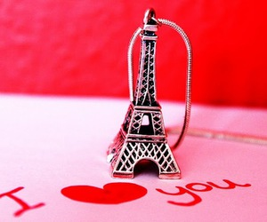 I Love You, iloveyou, and paris image