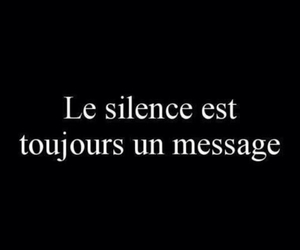 message and silence image