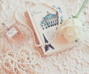 paris, rose, and perfume image