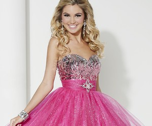 glittery, pink, and pink dresses image