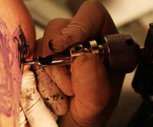 art, inked, and ink image