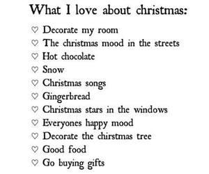 christmas, snow, and gifts image