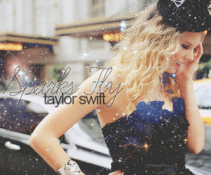 Taylor Swift and sparks fly image