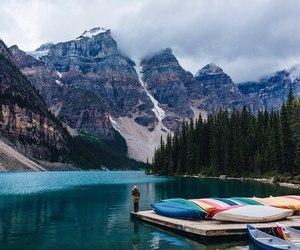 mountains, lake, and amazing image