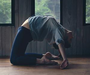 yoga and healthy image