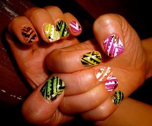 nail, native, and neon image