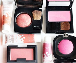 blush, chanel, and girly image