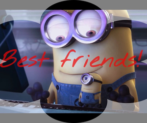 minions, true, and yellow image