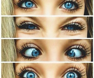 beauty, blonde, and eyes image