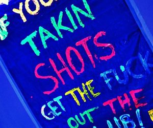 Shots, party, and club image