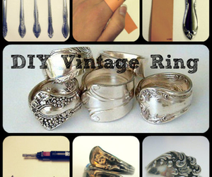 ring, diy, and girl image