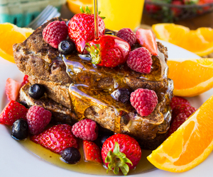 food, french toast, and sweets image