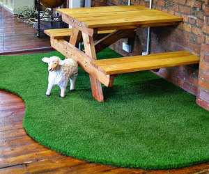 artificial grass, artificial turf, and fake grass image