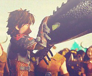 gif, hiccup, and how to train your dragon image