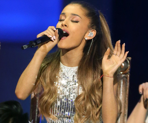 ariana grande, santa tell me, and very grammy christmas image
