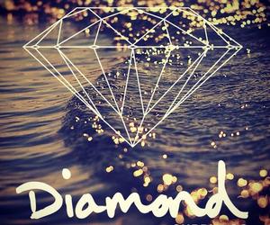 diamond, swag, and sea image
