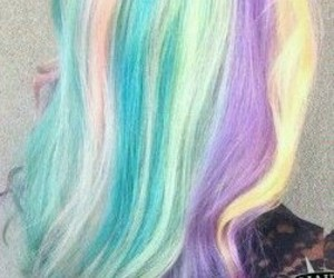 beautiful, colors, and hair image