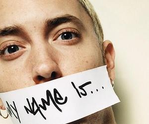 eminem, slim shady, and my name is image