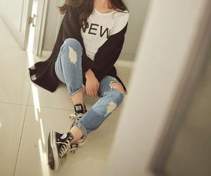 fashion, korean, and clothes image