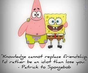 spongebob, patrick, and friendship image