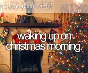 christmas, winter, and morning image