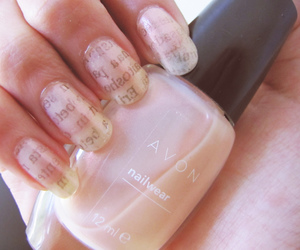 nails and text image