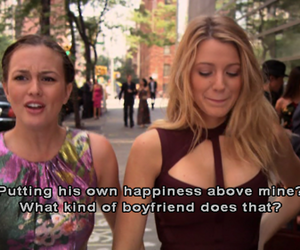 gossip girl, quotes, and blairt image