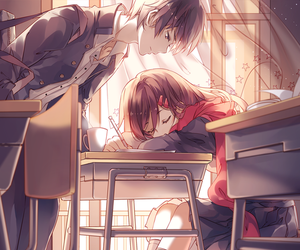 anime, school, and kagerou project image