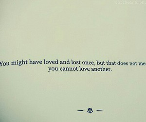 quote, love, and lost image