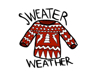 sweater, sweater weather, and christmas image