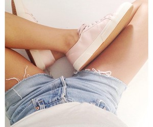 blue, converse, and girl image