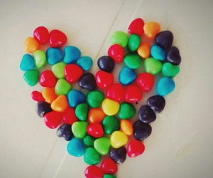 candy, colours, and heart image