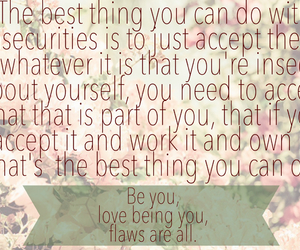 accept, flaws, and beauty image