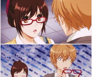 anime, erika, and sata kyouya image